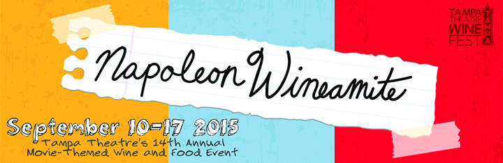 The Tampa Theatre Presents Napoleon Wineamite Fundraiser