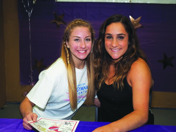 Olympian Jordyn Wieber Inspires During Visit To Golden City Gymnastics