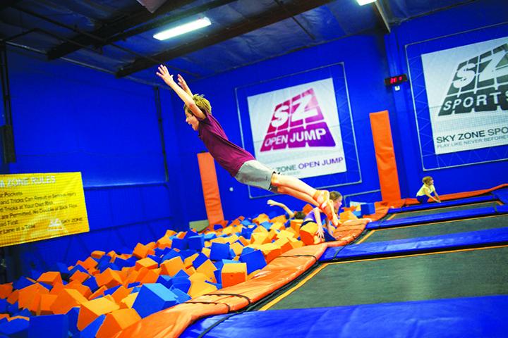 Indoor Trampoline Park Opens In Brandon