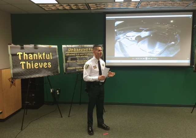 Hillsborough County Sheriff's Office Launch Property Crime Prevention Public Safety Announcement