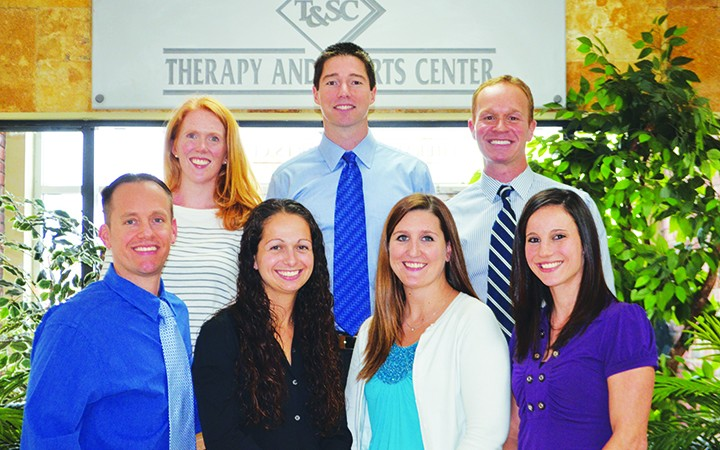 Therapy & Sports Center Caring Staff Focuses On Patient's Needs