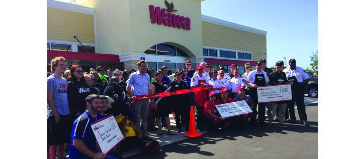 Grand Opening Of Second New Wawa Riverview Store Promotes New Wawa App