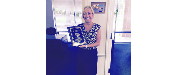 Diane Keebler Named Rotarian Of The Year