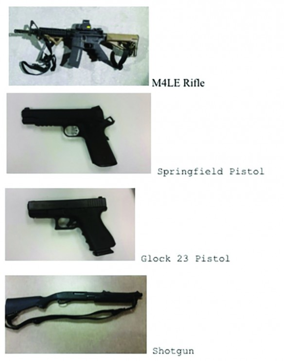 FBI Offers Up To $5,000 Reward To Recover Stolen Weapons