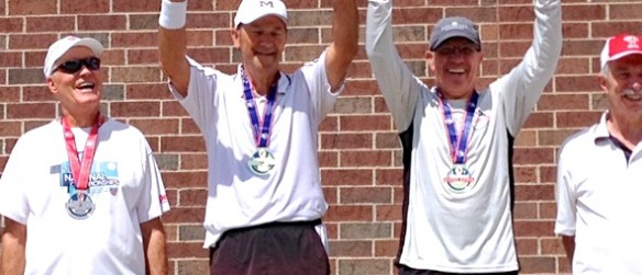 Local Tennis Duo Wins National Senior Games