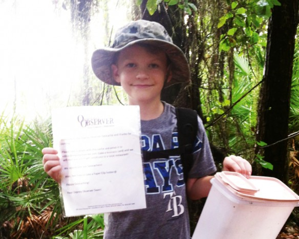 Create Year-Round Adventure In Your Own Neighborhood With Geocaching