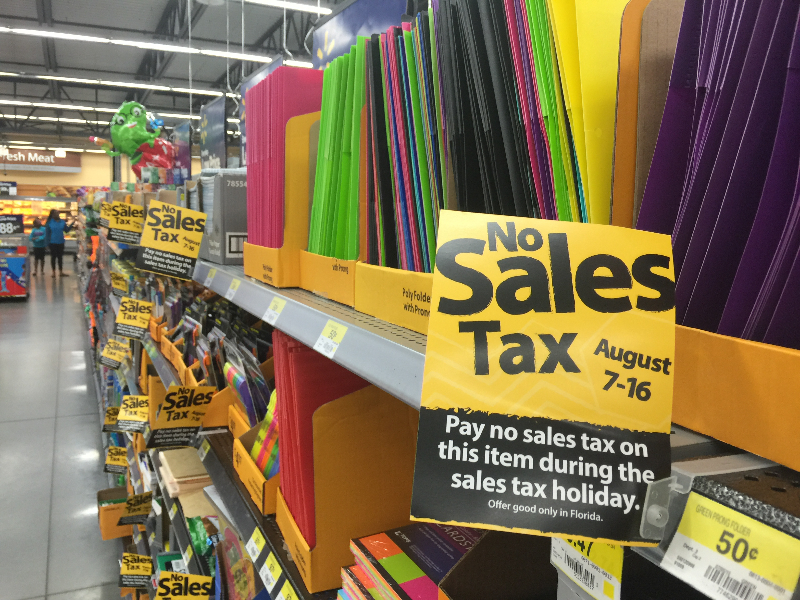 Florida's Back-To-School Tax Holiday Starting Today, to Last Ten Days