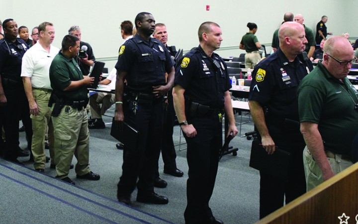 School Resource Deputies Tackle Substance Abuse Issues During Back-to-School Training