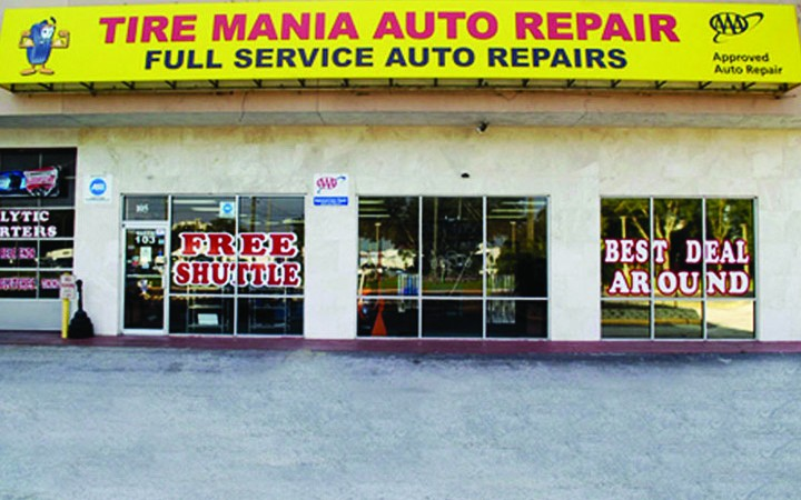 Tire Mania, Not Just About Tires