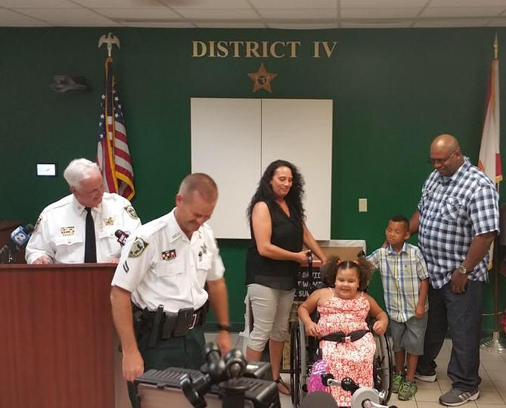 Community Rallies To Replace Bicycle Stolen From Disabled 6-Year-Old