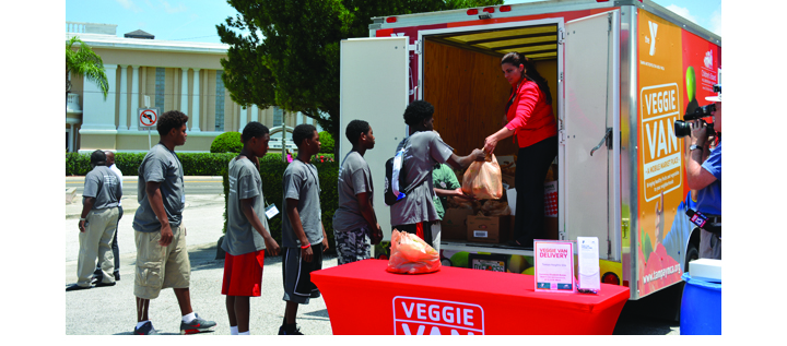 Wimauma Village Among YMCA Mobile Market Locations Healthy Food Distribution
