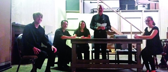 The Village Players Present The Diary Of Anne Frank