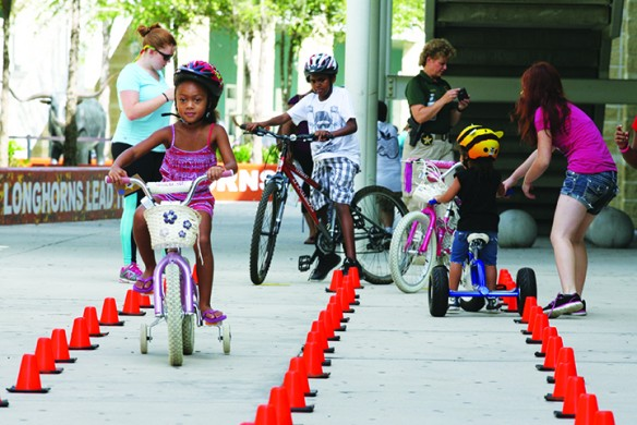 Deputies Focus On Bicycle Safety During Back-To-School Initiative