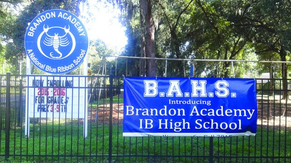 Brandon Academy Opens New High School