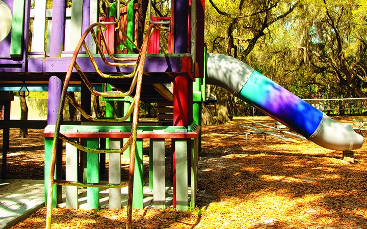 Rotary's Camp Florida Receives A New Playground From Its Community Partners