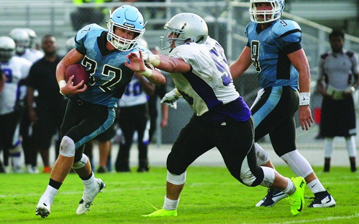 Newsome Defeats Spoto 27-21 In Preseason Football Kickoff Classic