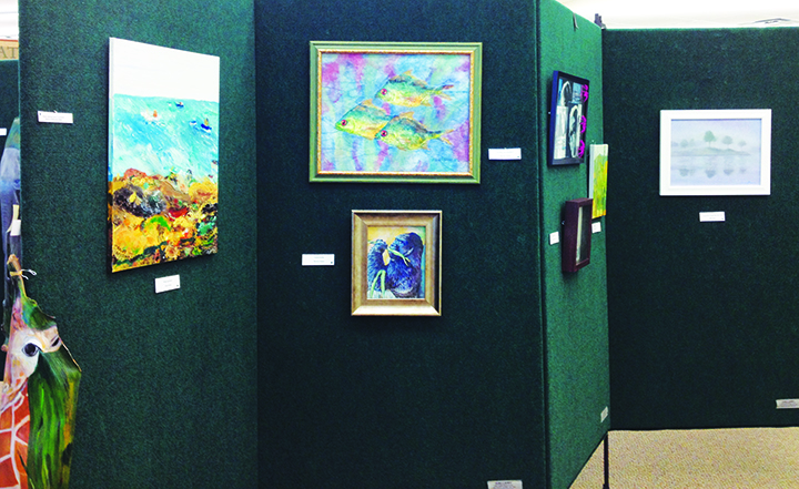 SouthShore Arts Council Display Works At Library