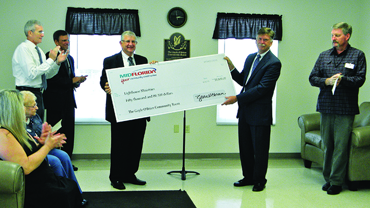 Lighthouse Ministries Receives $50,000 Memoriam Gift For Men's Facility