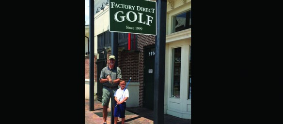 Custom Golf Shop Open For Play In WinthropTown Center