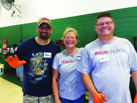 National Day Of Service Makes Difference To Those Needing Oil Changes