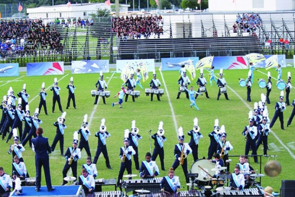 Newsome Wolfpack Named 2015 Band Of America Regional Grand Champions