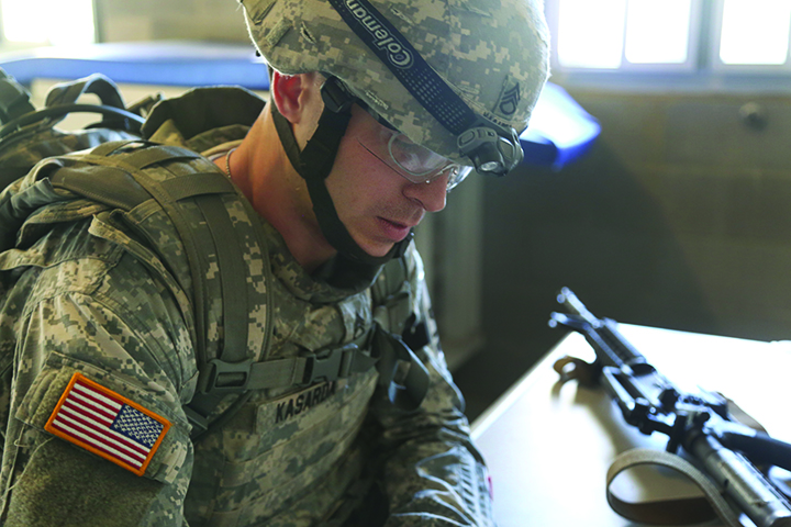 Brandon Native Competes In 2015 Best Warrior Competition