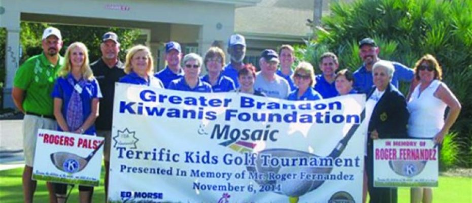15th AnnualGolf Tournament To Benefit Kiwanis Club Terrific Kids Program