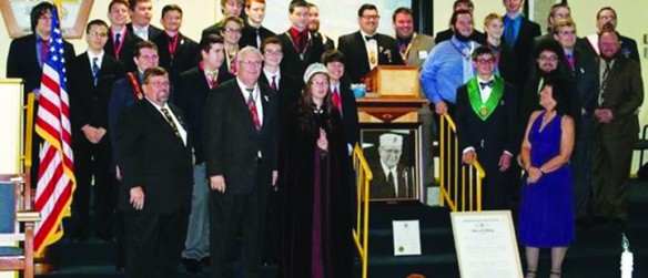 Walter Fishback Chapter Of The Order Of DeMolay Receives Official Charter From DeMolay International