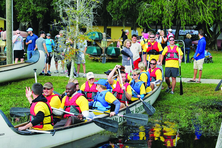 The Monster Canoe Challenge Helps Raise Money For Local Charities