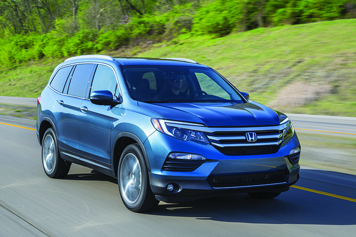 LET THE ALL-NEW 2016 PILOT STEER YOU TO YOUR DESTINATION