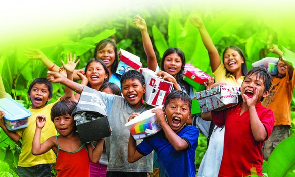 Operation Christmas Child To Collect  Gift-Filled Shoeboxes For Needy Children