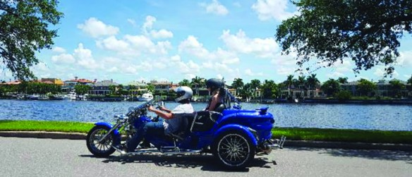 Bloomingdale Father, Son Bring New Adventure To Tampa Area With Trike AdVentures