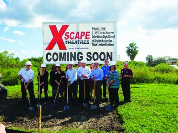 New Xscape Theatres To Bring 50 Jobs To Community