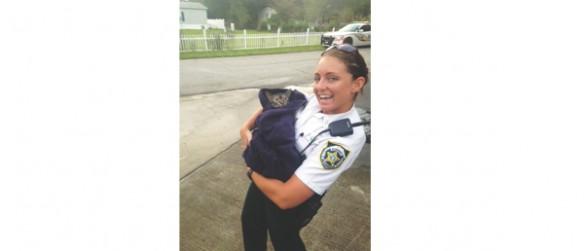 Deputy Resuscitates Cat After Fire