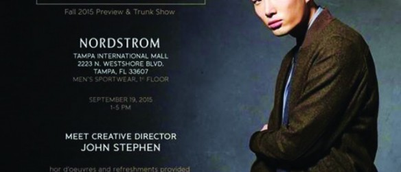 Riverview Resident Launches Classic Men's Clothing Line Available At Nordstrom