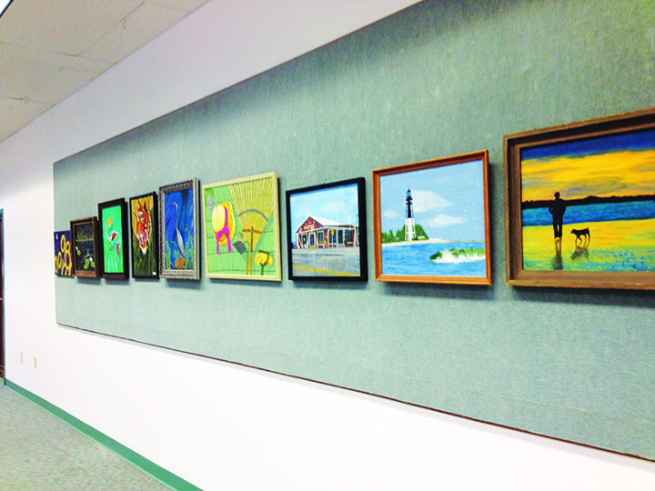 Acrylic Paintings, African Ivory Carvings And More On Display At Bruton Memorial Library