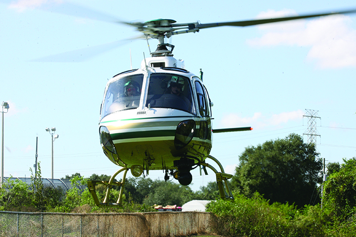 HCSO K-9 & Aviation Units Nab Wanted Man