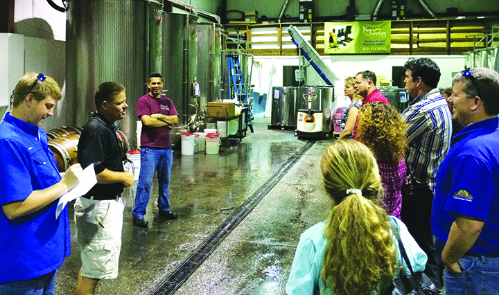 Technology Takes Center Stage During Farm Tours Offered To Local Veterans