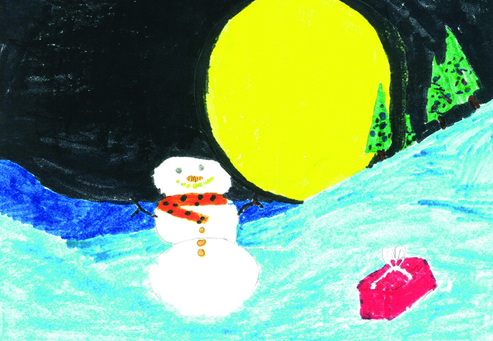 Purchases Of Christmas Cards Created By Migrant Children Benefit Low-Income Families