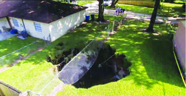 Residents Worried After 22-foot Sinkhole Opens Between Seffner Homes