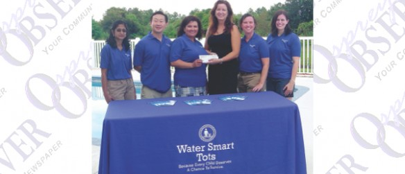 Water Smart Tots Receives $7,400 From 100 Women Who Care For Children's Survival Swim Lessons