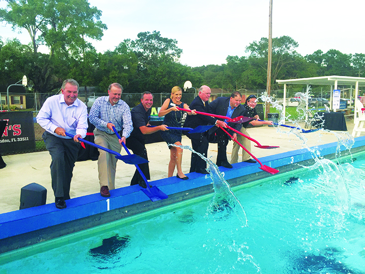 BSAC Breaks Ground On $1.3M  New Pool, Renovation Project