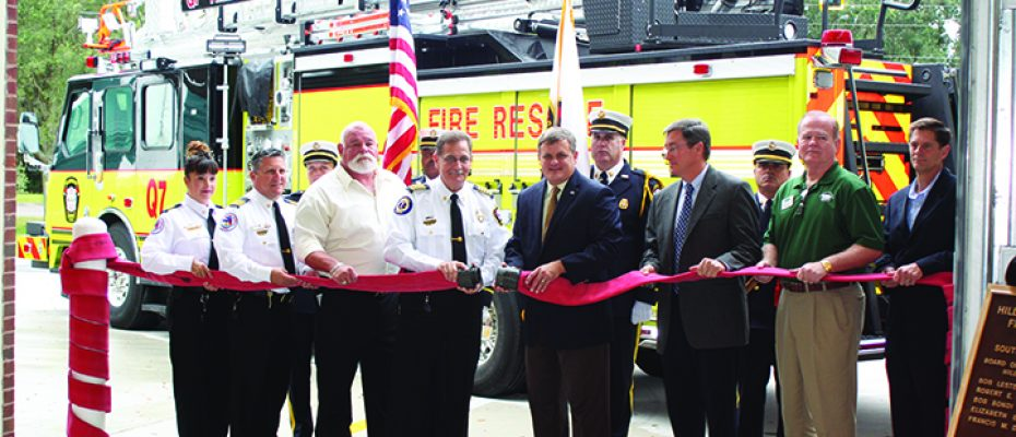 County Hosts Opening Ceremony For New Bloomingdale Fire Station
