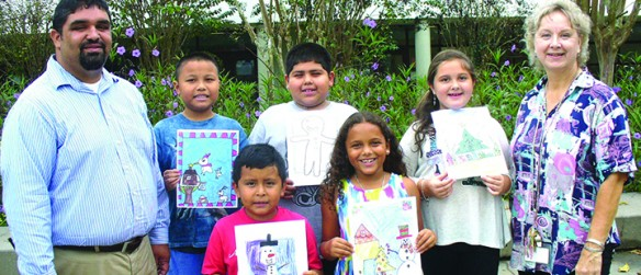 Friends Of The SouthShore Regional Library Announce Annual Holiday Art Contest Winners