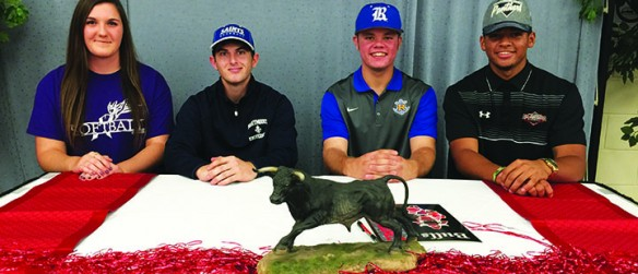 Bloomingdale, Newsome Celebrate National Letter Of Intent Signing