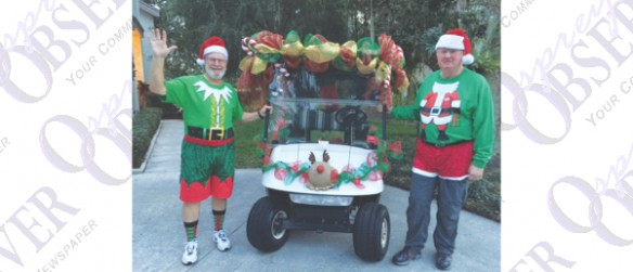 River Hills 7th Annual Community Holiday Golf Cart Parade