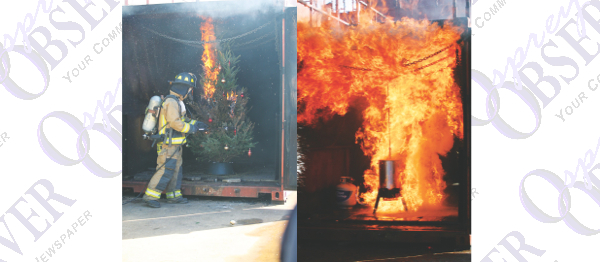 Fire Safety Takes Center Stage During Holidays