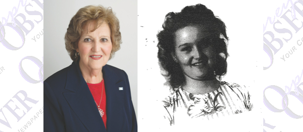 Frances Register Honored At Sunshine Bank For 57 Years Of Service