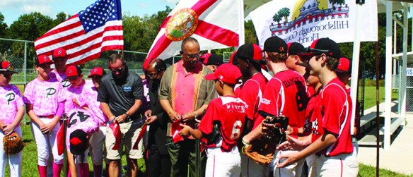 County Celebrates Newly Renovated Rubin Padgett Sports Complex Opening