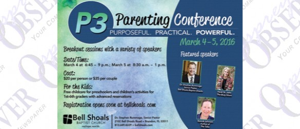 Parenting Conference This March